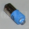Blue LED Bulb (28 Volt) Replaces 313 / 1829 (For Indicator Lights/Use With Clear or Blue Lens), 12360890-5PB