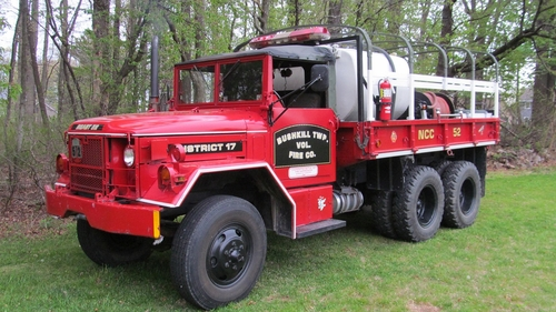Bushkill Twp. Vol. Fire Co., M35A2 Water Tender