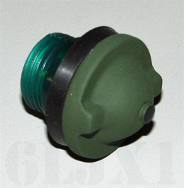 Dash Indicator Lens, Green, 7358622-2
