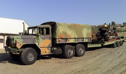 Erik's M35A3 With Trailer