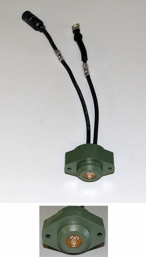 """Flame Heater"" Warning Indicator Light For HMMWV, 12341838 / 222386"