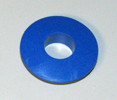 Gladhand (Half Coupling) Seal, Blue - Service Line, S-18581