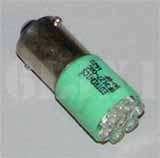 Green LED Bulb (28 Volt) For Turn Signal Switch Indicator, 12360890-3AG