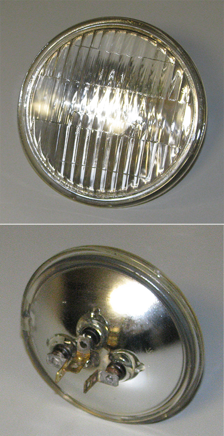 Headlight 28 Volt 110 55 Watt Sealed Beam Ms18003 4811
