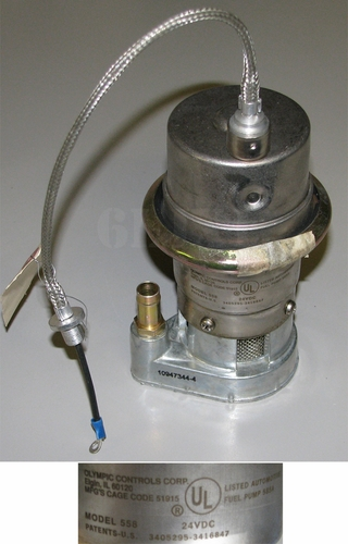In-Tank Electric Fuel Pump For M35A2 / M39A2, 10947344