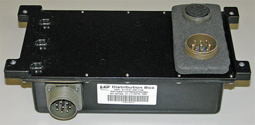 Information for the HMMWV: replacing LAU Technologies control box 12379864