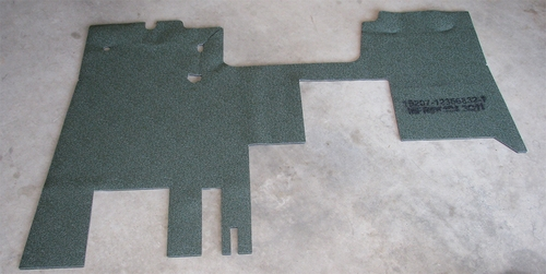 M939/A1 Cab Floor Insulation Mat, 12356832-1