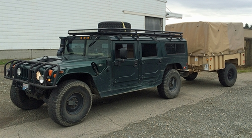 Matt Hixson Humvee with M1101 Trailer