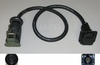 Military Trailer Adapter Cable (Civilian Trailer on a Military Vehicle), X-6035