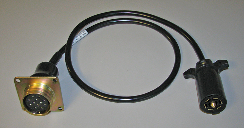 Military Trailer Adapter Cable  Military Trailer On A