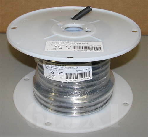 Prestolite Wire For Military Vehicles, 4 AWG, M13486/1-11 (50 Ft Spool)