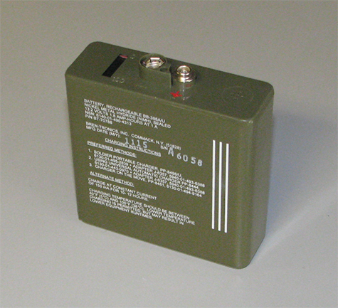 Rechargeable Battery (New) NiMH, BB-388A/U