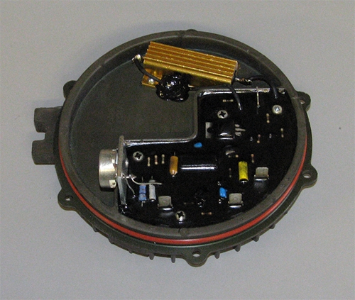 Regulator Assembly For 10929868 (AMA5104UT) 60 Amp 28 Volt Alternator By Sielman / Greece, 1M-6001