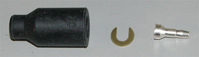 Rubber Shell Connectors (qty 1) MS27142-1