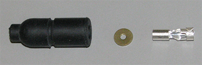 Rubber Shell Connectors (qty 1) MS27143-1