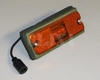 Side Clearance Light (Low Profile) LED Amber Lens, 12422657-001