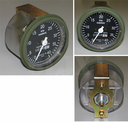 Tachometer, For M35/M54/M809/M939, MS35916-2