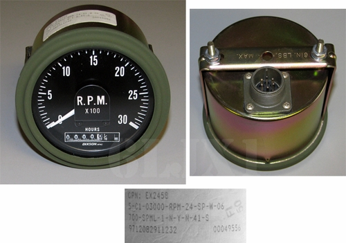 Tachometer (Electronic) For M35A3, 12448944 / EX2458
