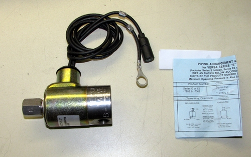 Transfercase Interlock Air Solenoid Valve, M939 Series, ESM-3302-S-26021
