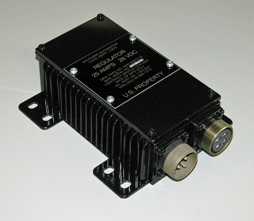 Voltage Regulator 25 Amp / 28 Volt DC, for M37, early M35 and M54, etc, 11631857