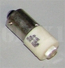 White LED Bulb (28 Volt) Replaces 313 / 1829 (For All Indicator Lights/Use With Any Lens Color), 12360890-4IW