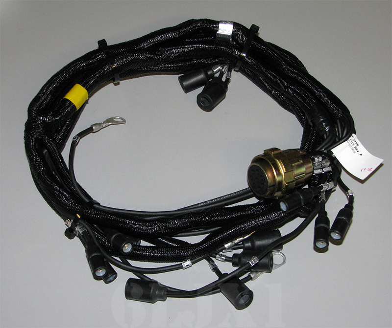 wire harness for hmmwv hood 12339349 9 wire harness for hmmwv hood, 12339349 GM Headlight Wiring Harness at suagrazia.org