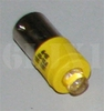 Yellow LED Bulb (28 Volt) Replaces 313 / 1829 (For Indicator Lights/Use With Clear or Amber Lens), 12360890-2UY