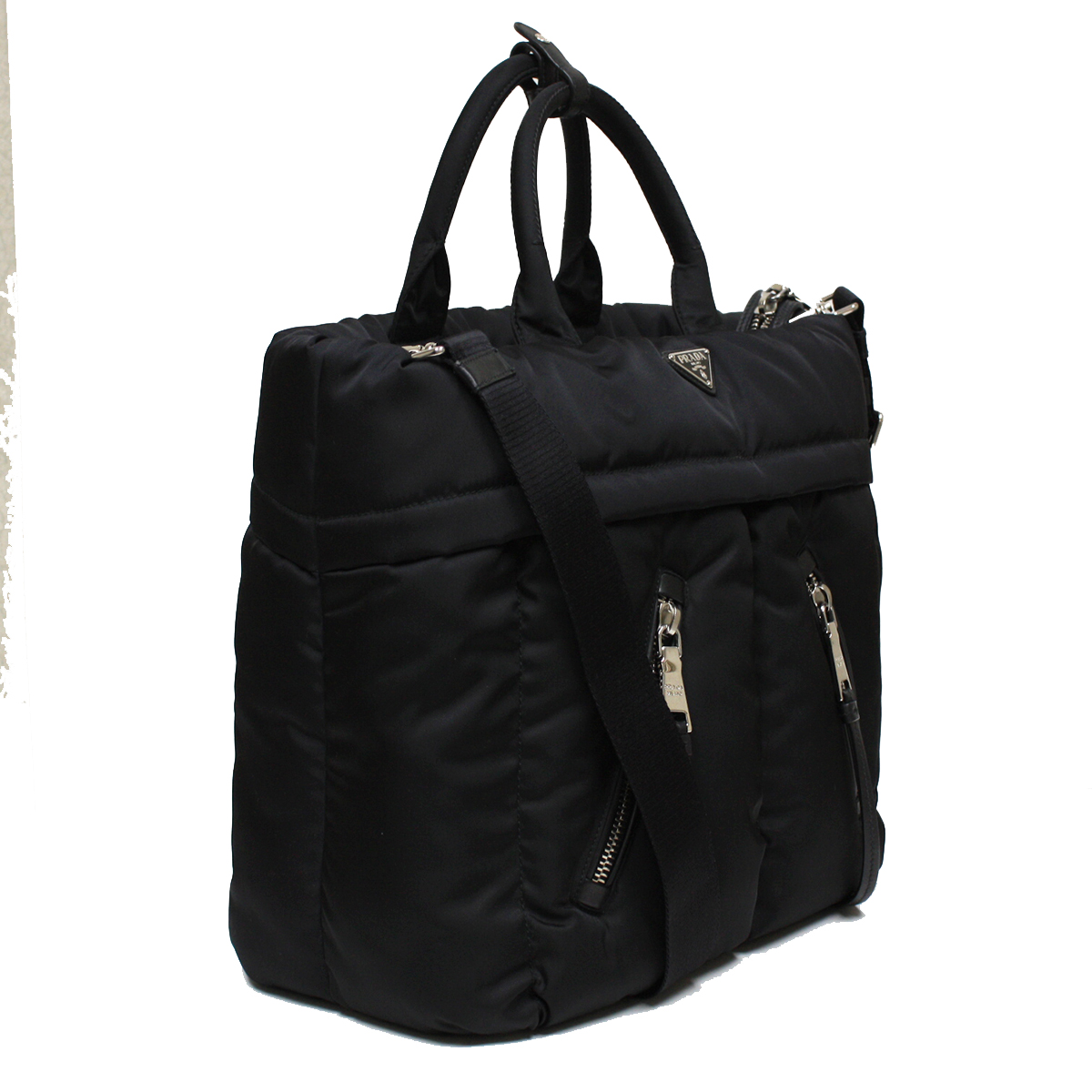 black prada diaper bag prada bags online usa. Black Bedroom Furniture Sets. Home Design Ideas