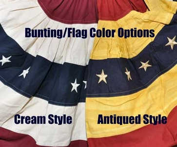Antiqued / Tea-Stained Flags