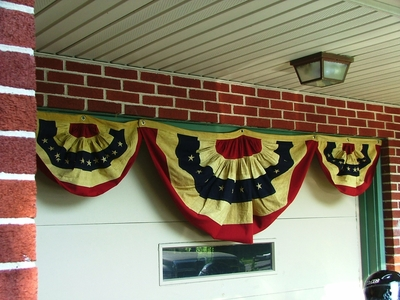 Bunting Trio <br> (117 inch total width when hung together)