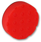 2 Pack CCS Spot Buff Red 4 inch Pads