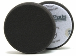 3.5 Inch Flat Black Finishing Foam Pad