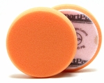 3.5 Inch Flat Orange Light Cutting Foam Pad