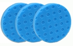 3 Pack - Blue Finessing CCS Smart Pads™ DA 5.5 inch Foam Pads