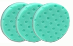 3 Pack -Green Polishing/Finishing CCS Smart Pads™ DA 5.5 inch Foam Pads
