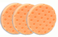 3 Pack -Orange Light Cutting CCS Smart Pads™ DA 5.5 inch Foam Pads