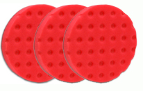 3 Pack -Red UltraSoft CCS Smart Pads™ DA 5.5 inch Foam Pads