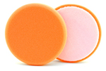 5 1/2 x 7/8 Inch Hydro-Tech Tangerine Ultra Polishing Foam Pad