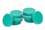8 Pack Cyclo Premium Green Foam Pads