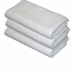 Arctic White Edgeless Microfiber Polishing Cloths 3 Pack