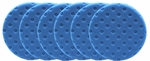 6 Pack - Blue Light Polishing CCS Smart Pads™ DA 6.5 inch Foam Pads