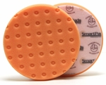 Orange Light Cutting CCS Smart Pads™ DA 6.5 inch Foam Pad