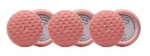 CCS 7.5 inch Pink Cutting/Polishing Pad 6 Pack