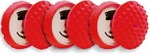 CCS 7.5 inch Red Ultrasoft Wax/Sealant Foam Pads 6 Pack