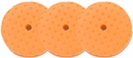 CCS 8.5 inch Orange Light Cutting Pad 3 Pack