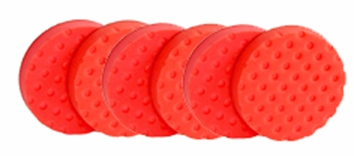 CCS Red Ultrasoft Wax/Sealant Pad 6 Pack