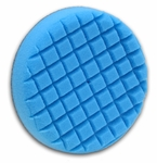 Cobra Cross Groove™ 6.5 Inch Blue Final Finishing Pad