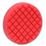 Cobra Cross Groove™ 6.5 Inch Red LSP FInishing Pad