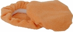 Cobra Deluxe 6 Inch Orange Microfiber Bonnets 2 Pack