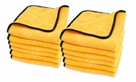 Cobra Gold Plush Jr. Microfiber Towels 12 Pack